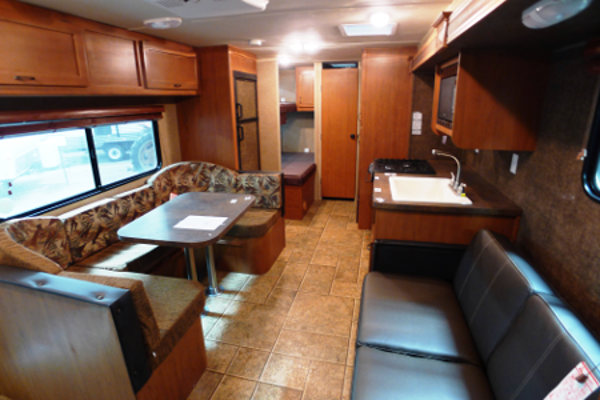 RV Rental Denver Travel Trailer Greywolf 28 Lounge
