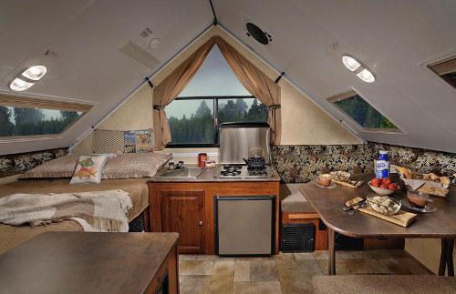 RV Rental Denver Flagstaff T12BH Interior