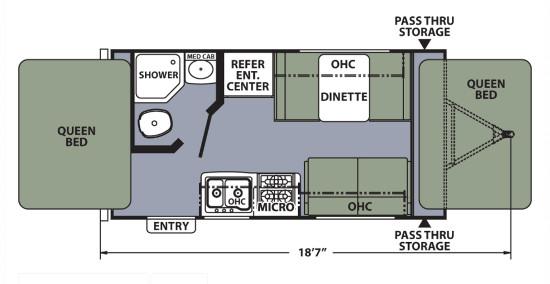 Apex15X Floor Plan