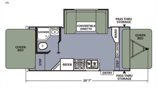 Apex17X Floor Plan