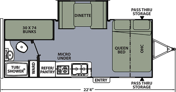 ApexNano193BHS Floor Plan