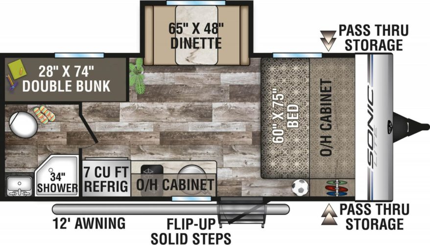 2020-Venture-RV-Sonic-Lite-SL169VUD-Travel-Trailer-Floorplan