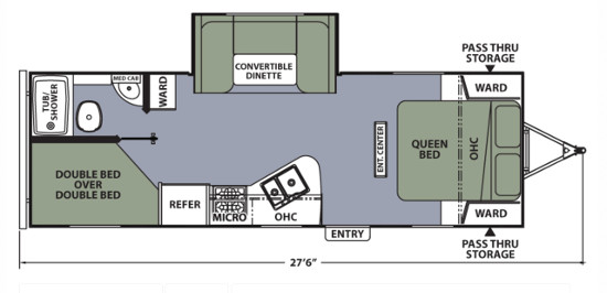 Apex24LE Floor Plan